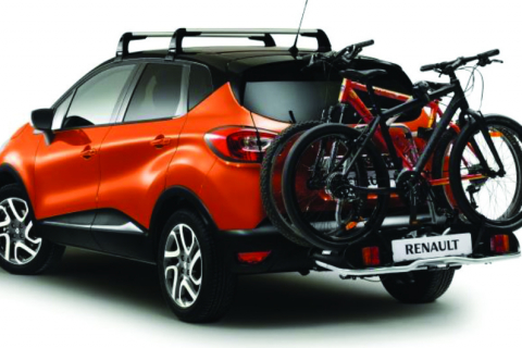 Euroride nosič 2 bicyklov na ťažné zariadenie