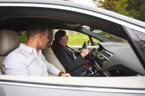 Predvádzacie jazdy na elektrickom Jaguari I-Pace