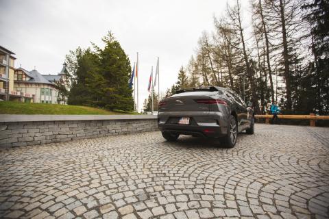 Nový plne elektrický Jaguar I-Pace