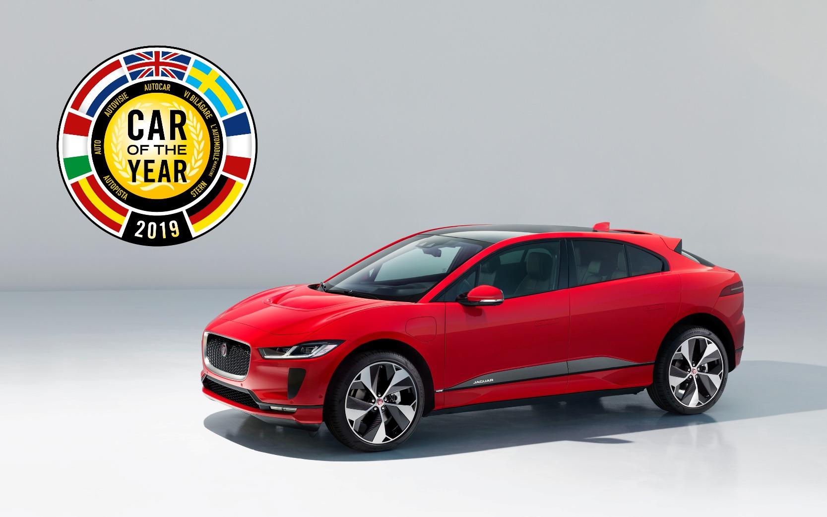 Jaguar I-Pace - Svetové auto roku 2019