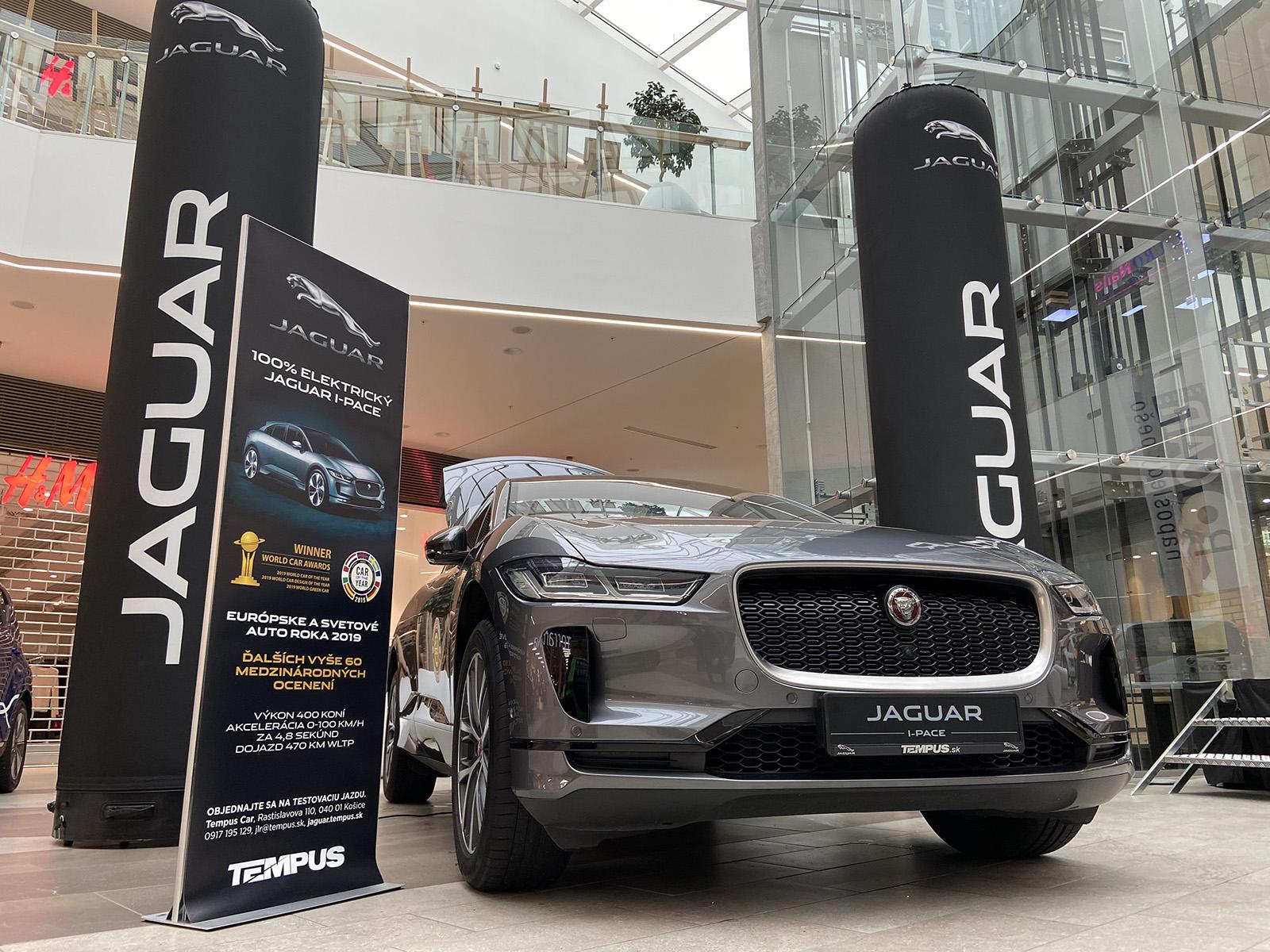 Jaguar I-Pace na prvom E-autosalóne na východe Slovenska